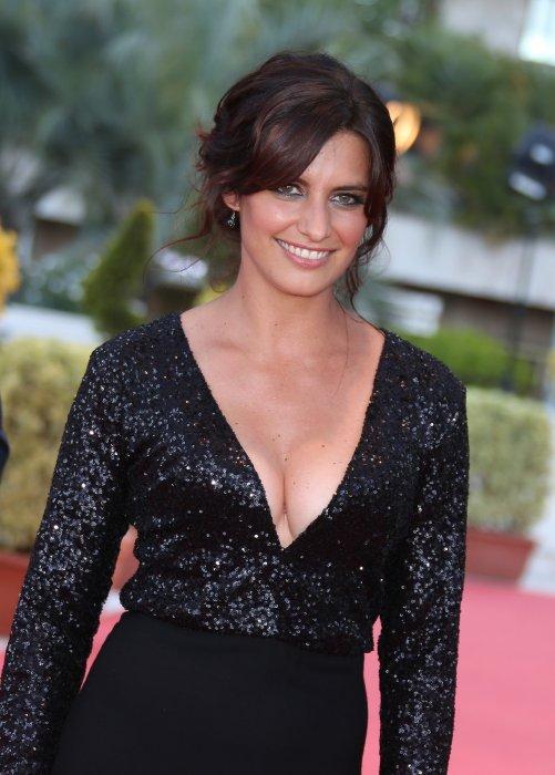 Laëtitia Milot participe au 56e Festival de la télévision de Monte-Carlo, le 14 juin 2016.
