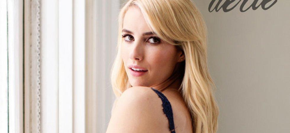 Emma Roberts : non retouchée pour la nouvelle ligne de lingerie Aerie