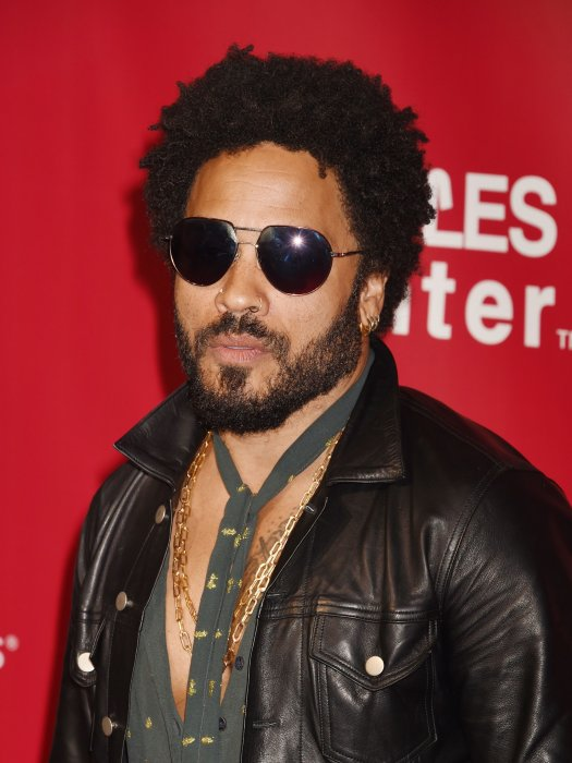 Lenny Kravitz à la soirée MusiCares Person of the Year 2016 en l'honneur de Lionel Richie au Convention Center à Los Angeles, le 13 février 2016.