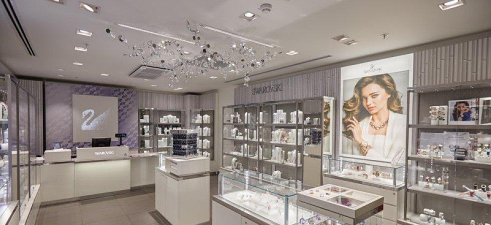 Swarovski installe un pop-up store au Carrousel du Louvre