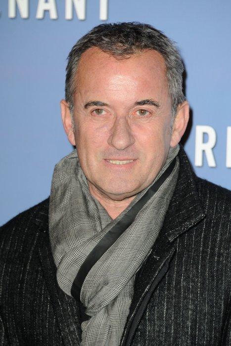 Christophe Dechavanne lors de la première de  The Revenant , au Grand Rex à Paris, le 18 janvier 2016.
