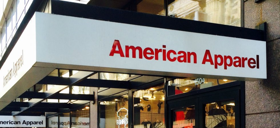 Mode : American Apparel se déclare en faillite