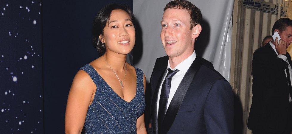 Le patron de Facebook, Mark Zuckerberg, est papa !