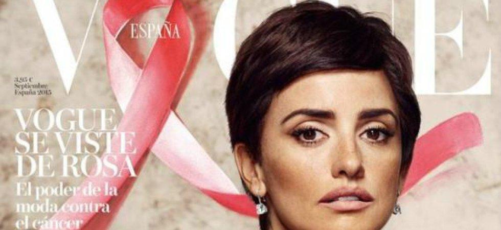 Penélope Cruz : les cheveux courts en une de Vogue Espagne !