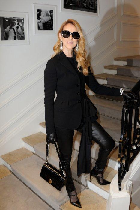 Céline Dion au défilé Dior à Paris, le 4 juillet 2016.