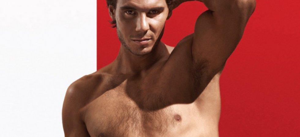 Rafael Nadal, sexy pour les sous-vêtements Tommy Hilfiger