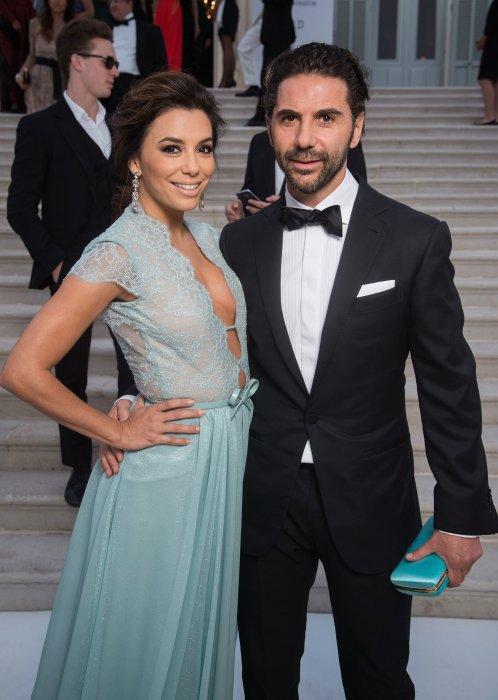 Eva Longoria et son nouveau mari, José Antonio Baston, en marge du gala de l\