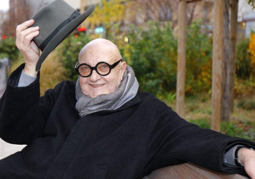 Portrait de Jean-Pierre Coffe réalisé en décembre 2015.