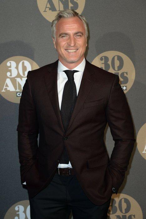 David Ginola assiste à la soirée du 30e anniversaire de Canal+, à Paris, le 04 novembre 2014.