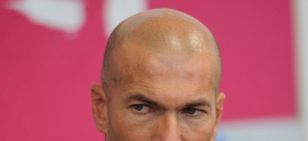 """Zinédine Zidane pense que """"ça sera plus dur"""" pour ses fils"""