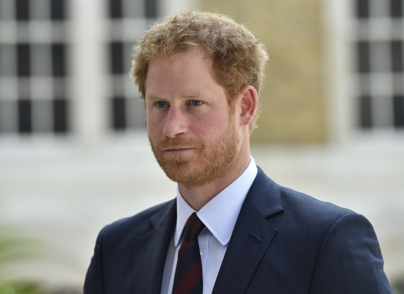 Le prince Harry à la réception au Guildhall de Londres, à la suite de la messe de l\