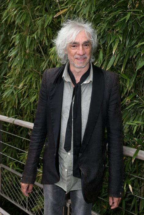 Louis Bertignac au village des Internationaux de France de tennis de Roland Garros à Paris, le 1er juin 2015.