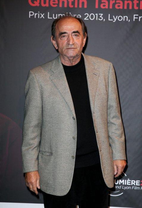 Richard Bohringer assiste à la remise du prix Lumiere 2013 à Quentin Tarantino à Lyon, le 18 octobre 2013.