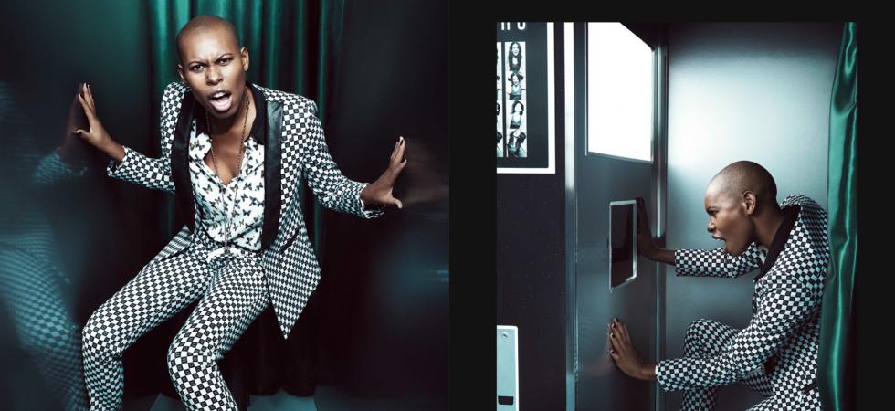 La chanteuse Skin, égérie de la nouvelle campagne de prêt-à-porter Sisley