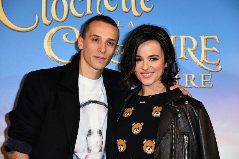 """Grégoire Lyonnet et Alizée à la première de """"Clochette et la Créature Légendaire"""" au cinéma Gaumont Marignan à Paris, le 20 mars 2015."""