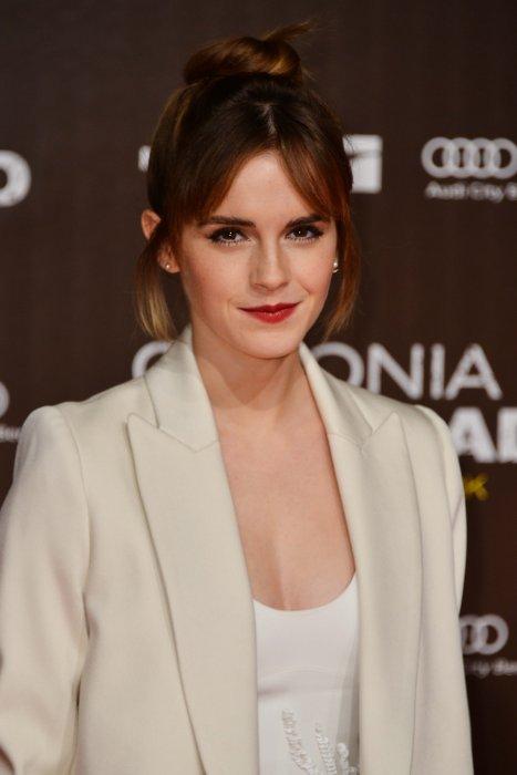 """Emma Watson lors de la première de """"Colonia"""" à Berlin, le 5 février 2016."""