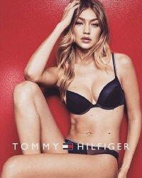 Gigi Hadid pose en sous-vêtements pour Tommy Hilfiger