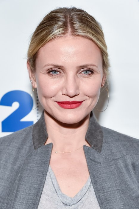 "Cameron Diaz pendant l'évènement ""Conversation with Rachael Ray"" à New York, le 05 avril 2016."