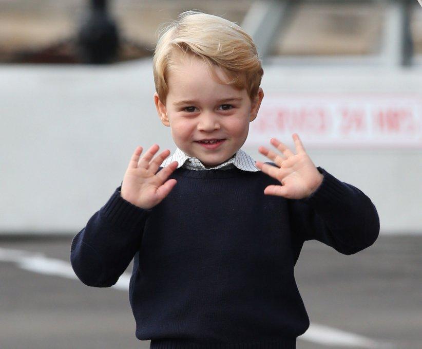 Le prince Georges en marge d\