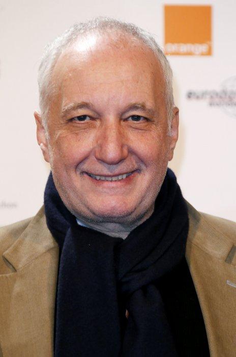 François Berléand lors du 15ème Festival International du Film et de la Télévision de Luchon, le 15 février 2013.