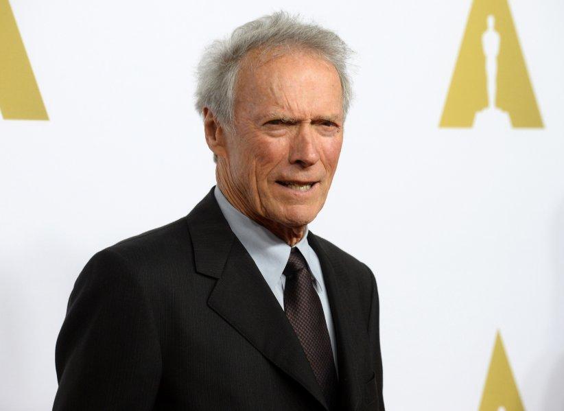 Clint Eastwood lors de la 87e cérémonie des Oscars à Los Angeles, le 2 février 2015.