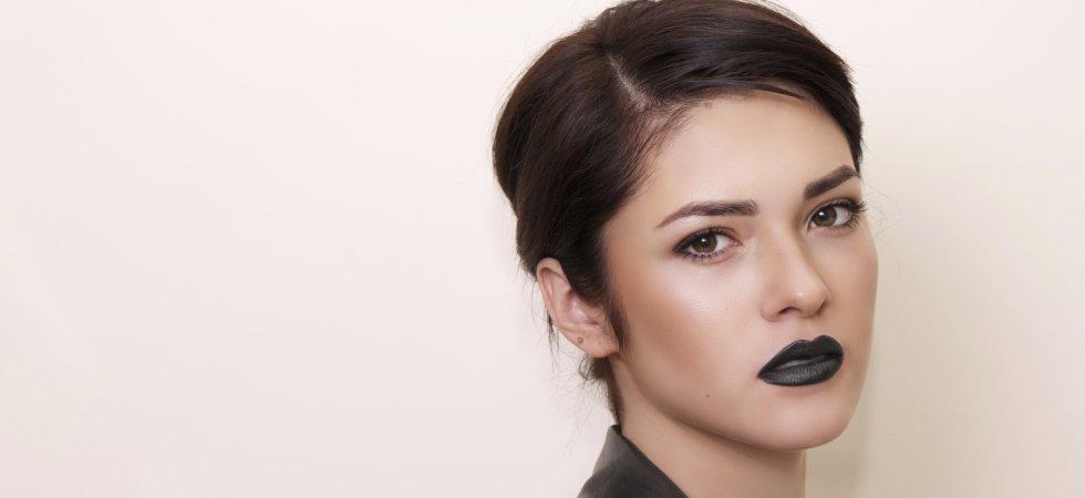 Comment oser le lipstick noir ?