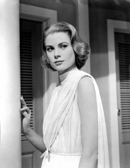 """Grace Kelly dans le film """"Haute société"""", le 30 novembre 1955."""
