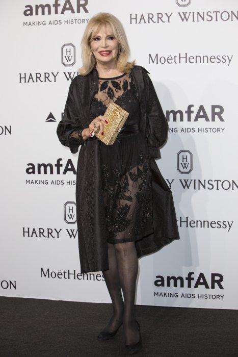 Amanda Lear en marge du gala de l\