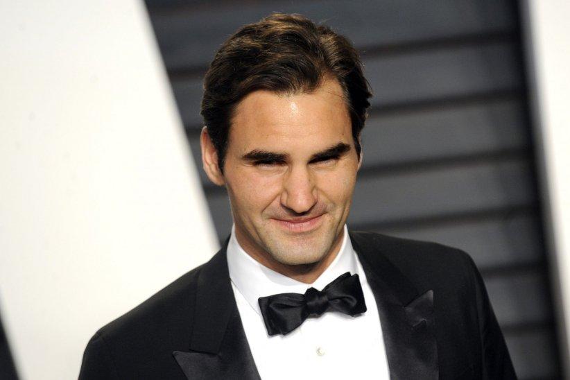 """Roger Federer assiste à la soirée """"Vanity Fair Oscar Party"""" après la 88ème cérémonie des Oscars à Hollywood, le 28 février 2016."""