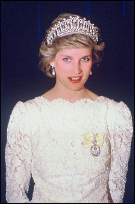 La princesse Lady Diana lors d\