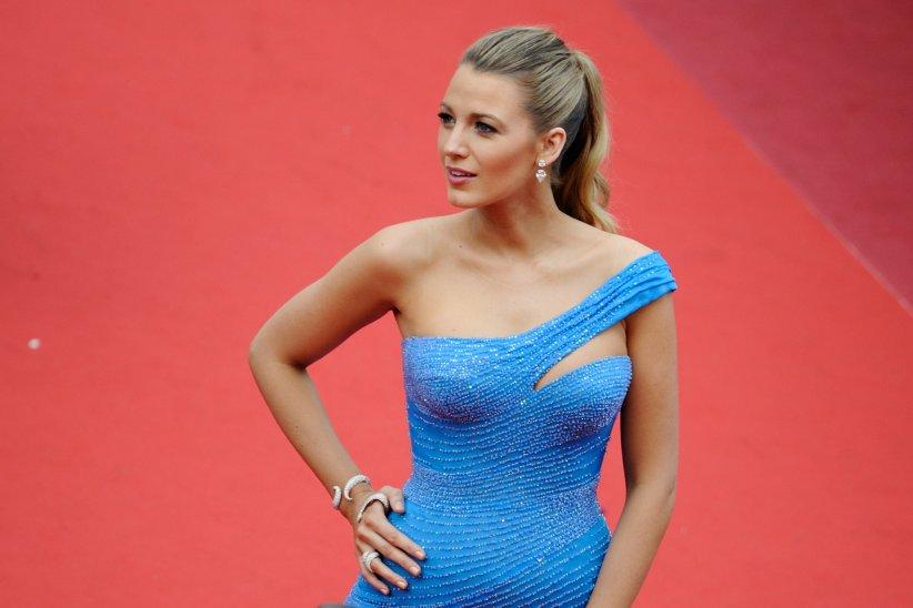 Blake Lively pendant le Festival de Cannes, le 14 mai 2016.