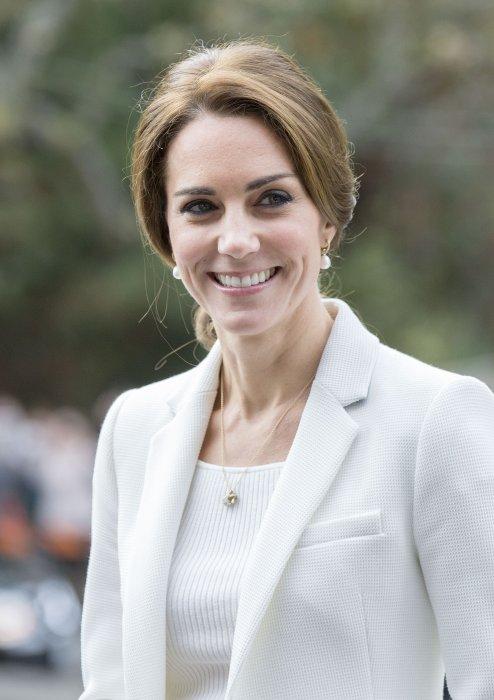Kate Middleton en visite officielle à Victoria, Canada, le 1er octobre 2016.