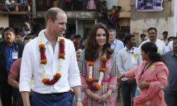 Kate Middleton fait sensation en Inde