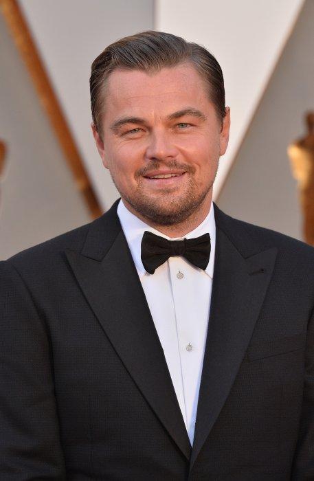 Leonrado DiCaprio lors de la 88e cérémonie des Oscars, le 28 février 2016.