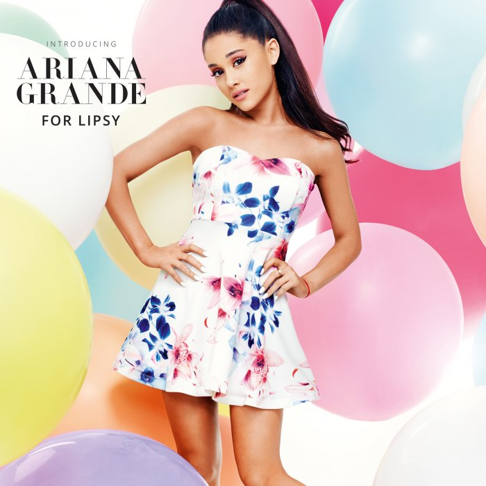 Ariana Grande lance une collection pour Lipsy London.