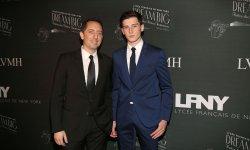 Gad Elmaleh et son fils réunis à New York
