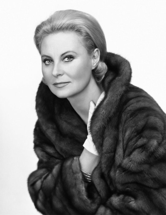 Michèle Morgan en 1963.