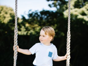Le prince George en dix adorables photos