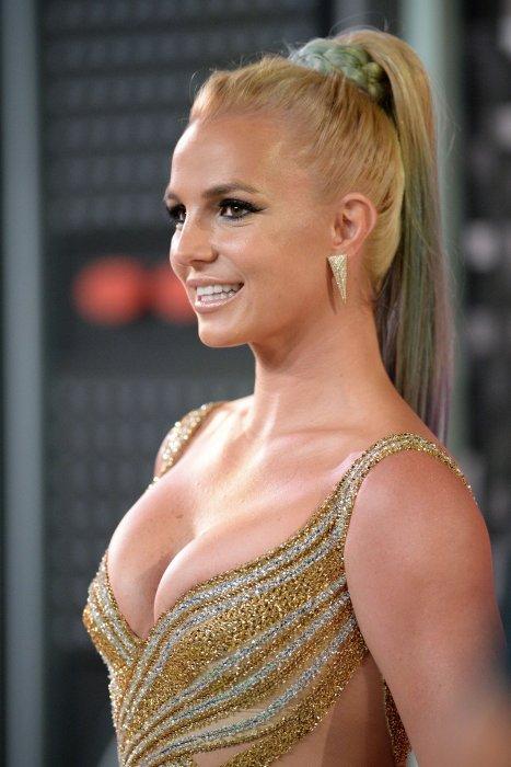 Britney Spears lors des MTV Video Music Awards 2015, à Los Angeles.