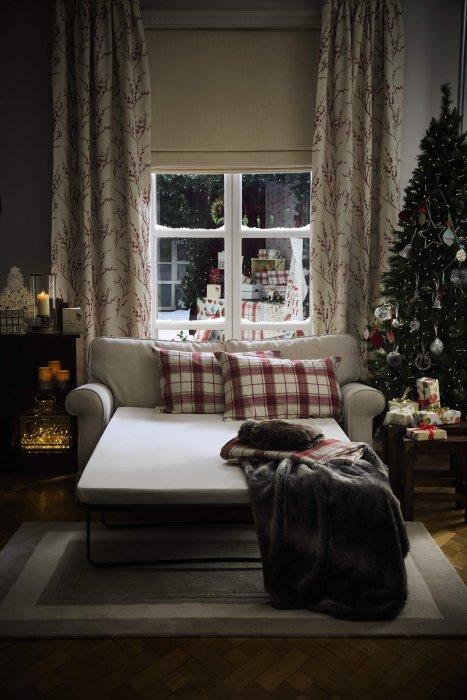 Fêter Noël dans un style cottage moderne