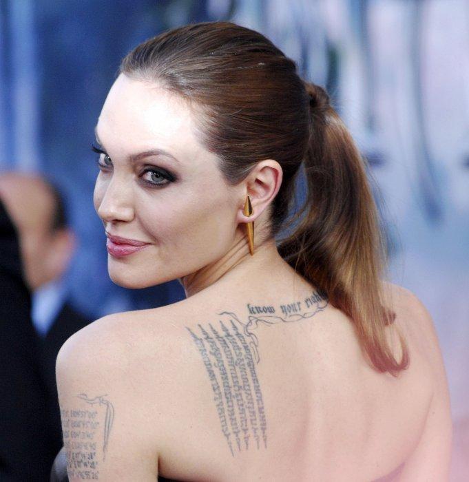 """Angelina Jolie à la première mondiale du film """"Maléfique"""" à Los Angeles, le 28 mai 2014."""