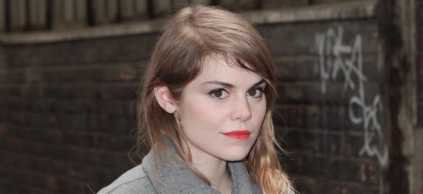 Béatrice Martin alias Coeur de Pirate, en amont du défilé Barbara Bui automne-hiver 2014-2015, à Paris.