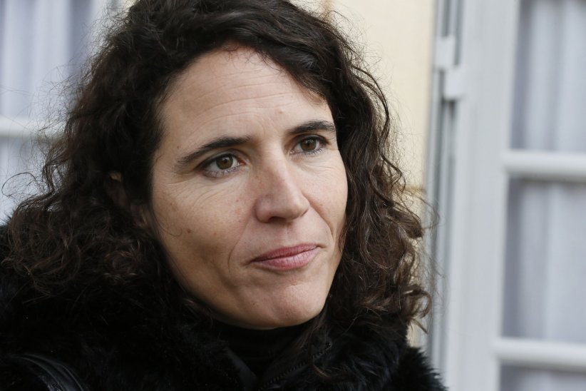 Mazarine Pingeot, en marge du 20e anniversaire de la mort de François Mitterrand, le 8 janvier 2016.