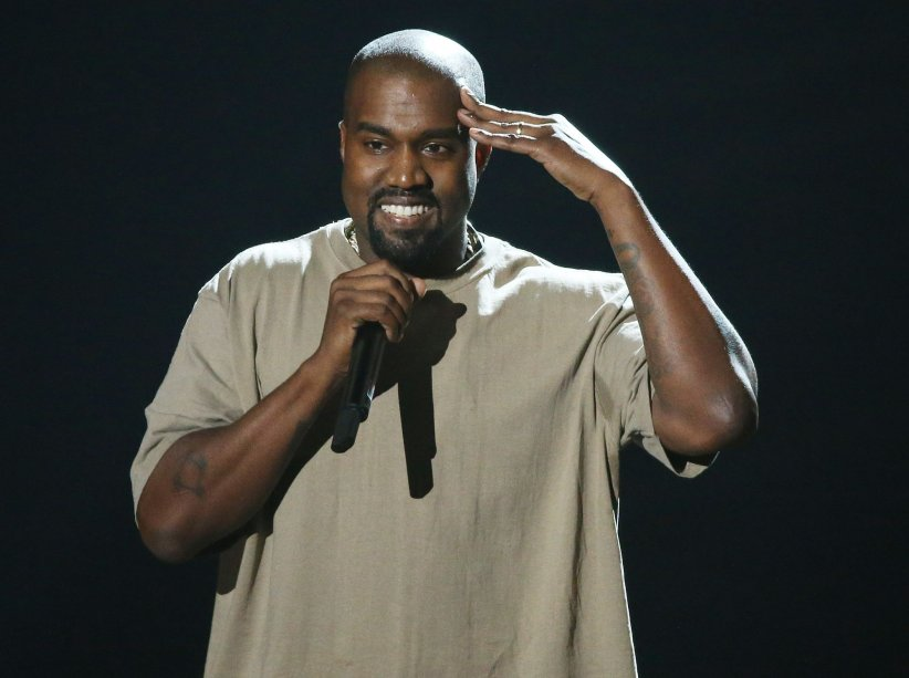 Kanye West, sur la scène des MTV Video Music Awards à Los Angeles, en août 2015.