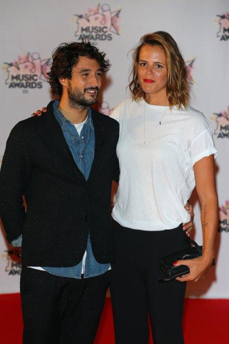 Laure Manaudou et Jérémy Frérot lors de la 17e cérémonie des NRJ Music Awards à Cannes, le 7 novembre 2015.