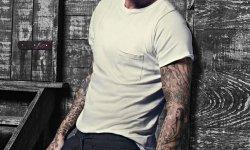 David Beckham pose pour la campagne bodywear