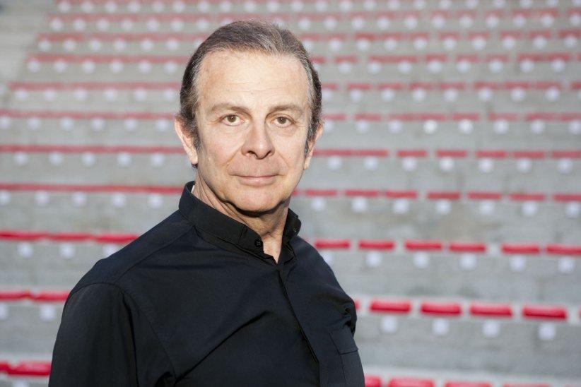 Roland Giraud, en marge du Festival de Ramatuelle, le 9 août 2010.