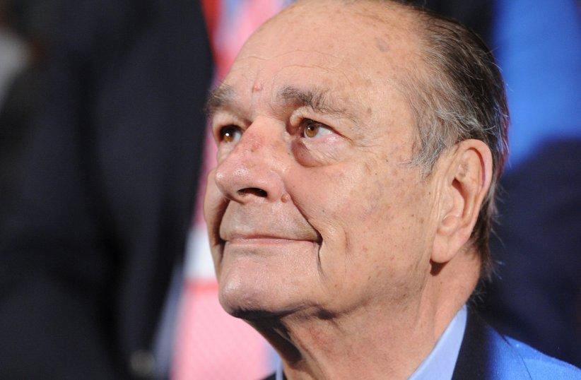 Jacques Chirac lors de la 3ème remise de prix de la Fondation Jacques Chirac, au Musée du Quai Branly à Paris, le 24 novembre 2011.