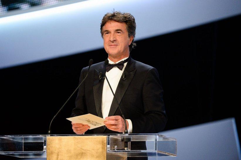 Francois Cluzet sur la scène de la 39e cérémonie des César, le 28 février 2014.