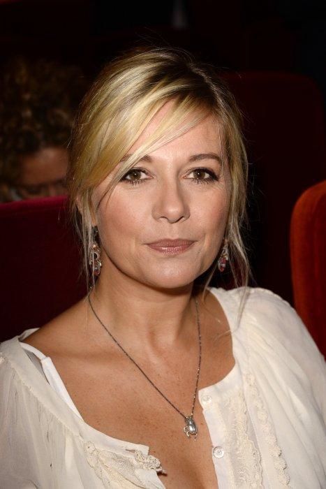Flavie Flament assiste à la conférence de presse de rentrée du groupe RTL à Paris, le 7 septembre 2016.